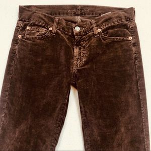 7 For All Mankind Pants - 7 For All Mankind Corduroys Size 27 Boot Cut